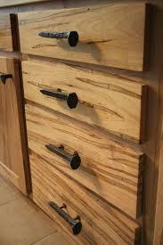 ... Drawer design, Light Brown Rectangle Unique Wooden Unique Drawer Pulls  With Iron Design: Unique ...
