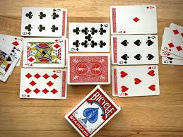 Perhaps the easiest solo card game in existence, bowling solitaire uses a full playing card deck (including both jokers). Palace Bicycle Playing Cards