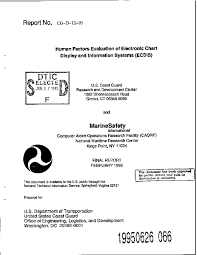 Chart Of Human Evaluation Pdf Human Factors Evaluation Of Electronic Chart Display