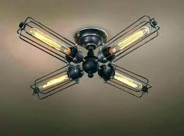 attach chandelier to ceiling fan hallway ceiling fan hang chandelier from ceiling fan hallway ceiling fan vintage industrial metal cage ceiling can i hang a