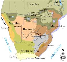 Eco Map Southern Africa Safaris Classic Africa