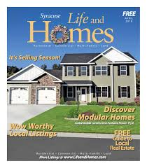 life and homes syracuse april 2018