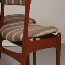upholstered parsons dining chairs review mid century od 49 teak dining chairs by erik buch for