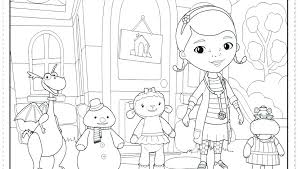 Free Doc Mcstuffins Printables Doc Printable Coloring Pages At Free