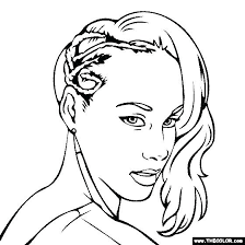 Famous People Online Coloring Pages Page 1 Free Coloring Pages 31380