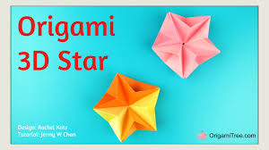 Paper Crafts For Christmas Christmas Crafts Easy Origami Star 3d Paper Origami Star