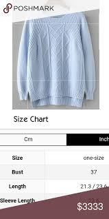 Light Blue Knit Sweater New Boutique Item Slightly Cropped
