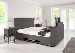 tv bed with storage. Simple Bed Liberty Wilson Grey Fabric TV Bed With Storage With Tv Storage 1