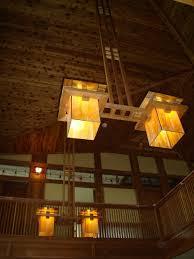 Frank Lloyd Wright Lighting Collection Custom Made Frank Lloyd Wright Inspired Ceiling Light