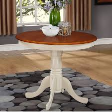 modern 36 inch round dining table at east west furniture antique pedestal