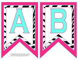 Letter For Banner Printable Letters Banner Download Them Or Print