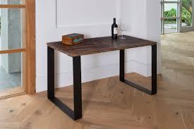 modern rustic desk u legs modern desk office desk wood desk furniture steel legs shou sugi ban walnut