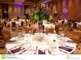 Tables At Wedding Reception Royalty Free Stock Images Image