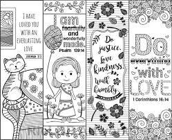 Dltk's bible activities for kids printable bible activities. Set Of 8 Bible Verse Coloring Bookmarks For Kids Scripture Markers For Sunday School Digital Download Coloring Bookmarks Bookmarks Kids Bible Bookmark