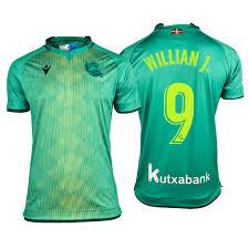 Real Sociedad Willian José Green Men's 19-20 Away Official #9 Jersey