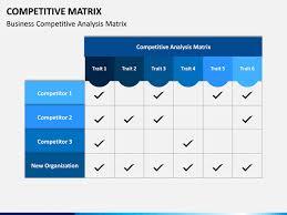 Competitive Matrix Template Competitive Matrix