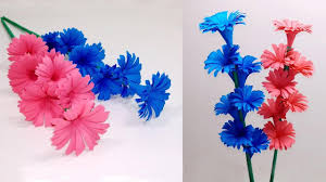 How To Make A Beautiful Flower With Paper How To Make Beautiful Flower With Paper Making Paper Flowers Step
