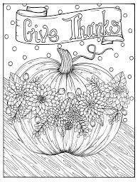 Geven Bedankt Digitale Kleuren Pagina Thanksgiving Oogst Etsy