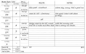 free printable running log printable running log template download journal free