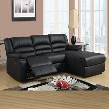 stylish black leather reclining sectional sofa with hazelnut burdy black coffee bonded leather recliner reclining