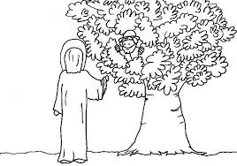 Zacchaeus found jesus, repented and put his faith into action. Zacchaeus Coloring Page Printable Coloring Home