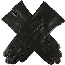 dents las joanna silk unlined leather gloves black