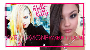 the beauty breakdown avril lavigne o kitty video makeup hair tutorial how to outfit of