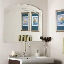 frameless bathroom vanity mirror. Angel Large Frameless Wall Mirror Frameless Bathroom Vanity Mirror E