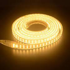 combo 10m Đèn Led dây đôi 2835 ánh sáng vàng, trắng và xanh dương, ống nhựa  220V(bán theo m)