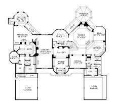large one story house plans large house floor plans free