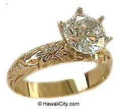 hawaiian heirloom jewelry 14k yellow gold enement rings in white gold hawaiian heirloom jewelry hawaiian