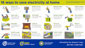 16 Ways to save electricity at home