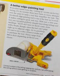 edge painting tool. try our edge-painting tool and paint rollers for edges. accubrush offers best brush cutting in ceiling fast easy painting. edge painting y