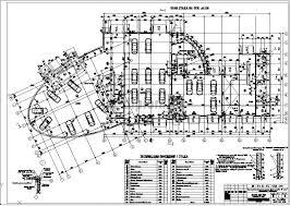 Дипломный проект ПГС Дилерский центр с автосервисом в г Кострома 3 План 1 го этажа узлы