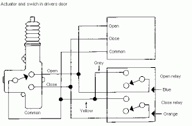 door lock actuator wiring diagram door image 5 wire door lock actuator wiring diagram 5 image on door lock actuator wiring
