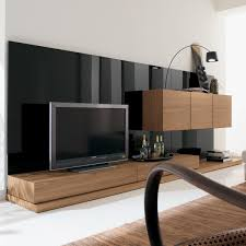 Tv Unit Designs For Living Room Decoration Original Modern Wooden Wall Unit Also Furniture Paired