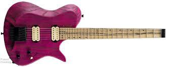 z6 kiesel zeus bolt neck headless electric guitar