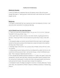 Example Of Profile Essay How To Write A Profile Essay How To Write A Profile Essay