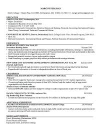 Sample Investment Banking Analyst Resume