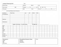 Veterinary Anesthesia Monitoring Chart Veterinary Anesthesia Monitoring Slubne Suknie Info