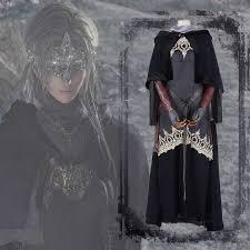 Anime Hot Game Dark Souls 3 Fair Keeper Gothic Dress