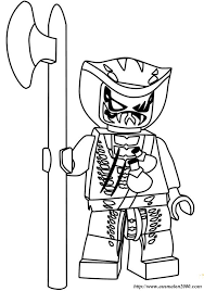 Kleurplaat Lego Ninjago Nindroid 70754 Ausmalbilder Lego Ninjago