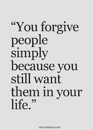 Inspirational Quotes About Love And Forgiveness