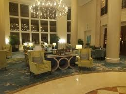 walking through front door. The Ritz-Carlton Key Biscayne, Miami: Walking Through Front Door To Beach