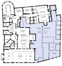 Home Plans  amp  Design   MEDIEVAL CASTLE FLOOR PLANSA Larger Castle Floor Plan   Meval Castles Home Page