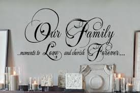 quotes wall art quotes family our family moments 18x36 vinyl lettering wall quotes words sticky art on lettering wall art quotes with wall art ideas