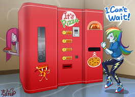 Vending Machine Pizza Stunning Pizza Vending Machine By Uotapo On DeviantArt