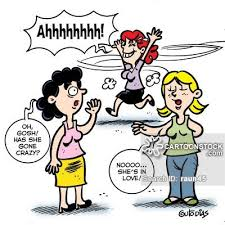 Crazy In Love Cartoons And Comics Funny Pictures From CartoonStock Custom In Love Cartoon