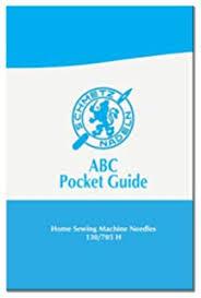 Amazon Com Schmetz Guide Machine Needle Color Chart Luggage