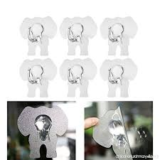 kitchen towel hooks. Plain Hooks WINOMO 6pcs Adhesive Wall Hooks Cute Elephant Bath Home Kitchen Towel  HangerTransparent  B01N4MYA00 With I
